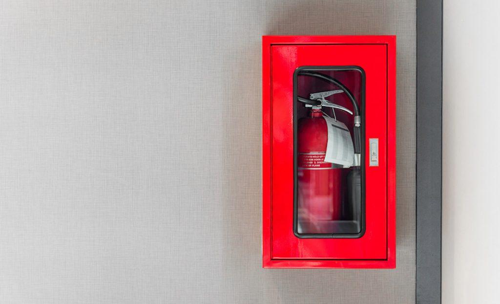 ضرورت وجود کپسول آتش نشانی برای ساختمان